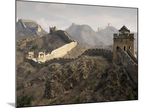 Great Wall of China-Sean Caffrey-Mounted Photographic Print