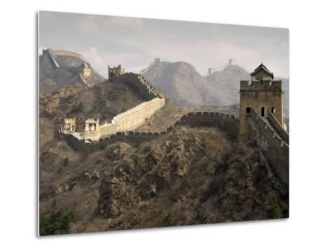 Great Wall of China-Sean Caffrey-Metal Print