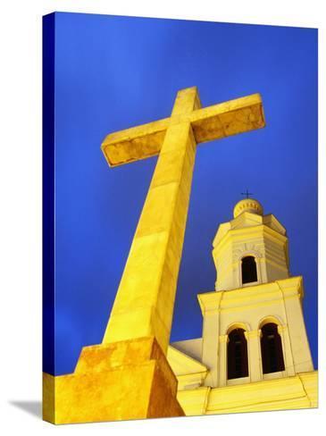 Church of San Sebastian-Ryan Fox-Stretched Canvas Print