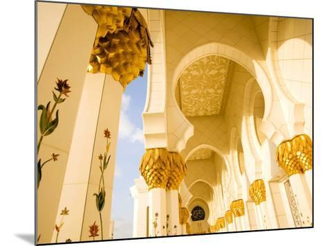 Exterior Archway of Sheikh Zayed Bin Sultan Al Nahyan Mosque-Rogers Gaess-Mounted Photographic Print