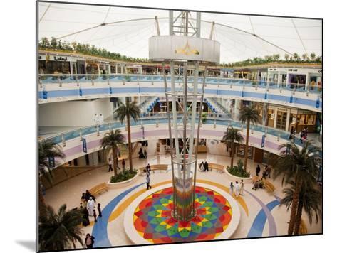 Fountain at Marina Mall Shopping Centre-Richard l'Anson-Mounted Photographic Print