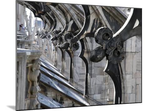 Duomo Architectural Detail-Sabrina Dalbesio-Mounted Photographic Print