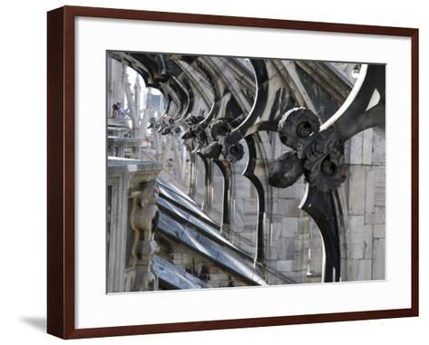 Duomo Architectural Detail-Sabrina Dalbesio-Framed Art Print