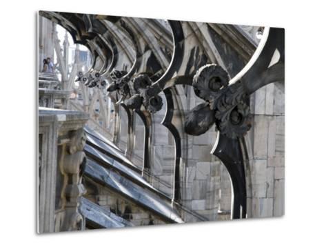 Duomo Architectural Detail-Sabrina Dalbesio-Metal Print