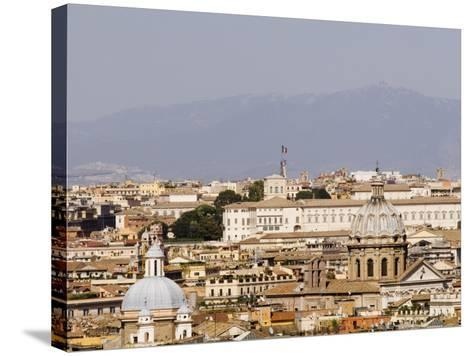 Trastevere District from Janiculum Hill-Will Salter-Stretched Canvas Print