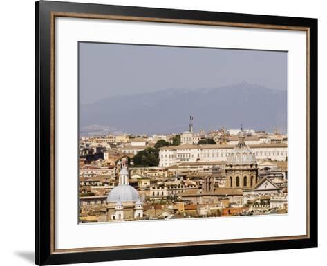 Trastevere District from Janiculum Hill-Will Salter-Framed Art Print