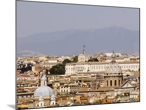 Trastevere District from Janiculum Hill-Will Salter-Mounted Photographic Print