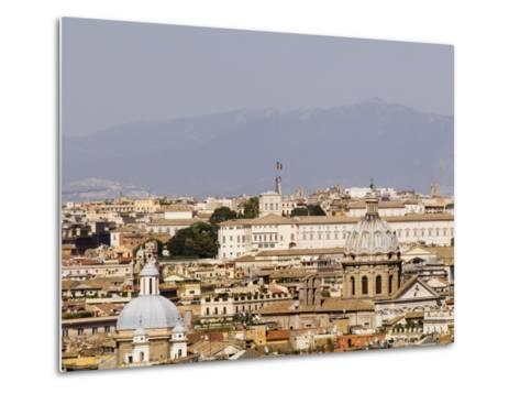 Trastevere District from Janiculum Hill-Will Salter-Metal Print