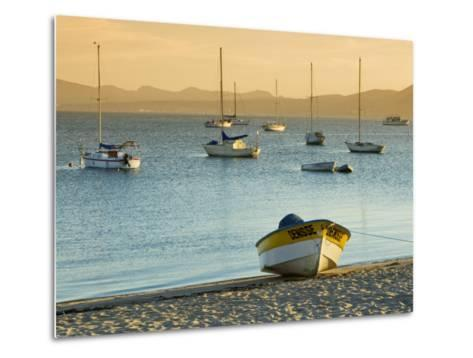 Boats on Beach at Sunrise, Seen from the Malecon-Witold Skrypczak-Metal Print