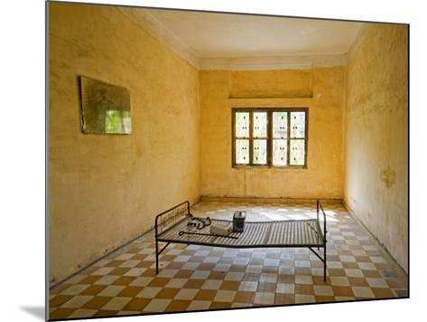 Former Prison Cell for Khmer Rouge Victims Captured and Tortured at Security Prison S-21-Rachel Lewis-Mounted Photographic Print