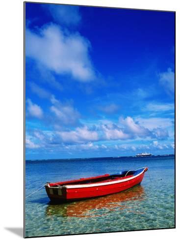 Small Boat at Anchor-Ralph Hopkins-Mounted Photographic Print