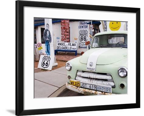Dodge Truck at Route 66 Museum-Richard Cummins-Framed Art Print