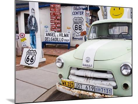 Dodge Truck at Route 66 Museum-Richard Cummins-Mounted Photographic Print