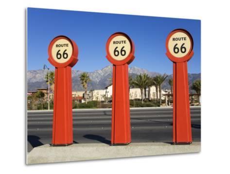 Route 66 Signs-Richard Cummins-Metal Print