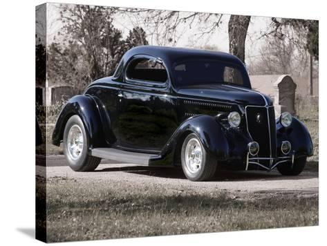 Billy F. Gibbons Hot Rod-David Perry-Stretched Canvas Print