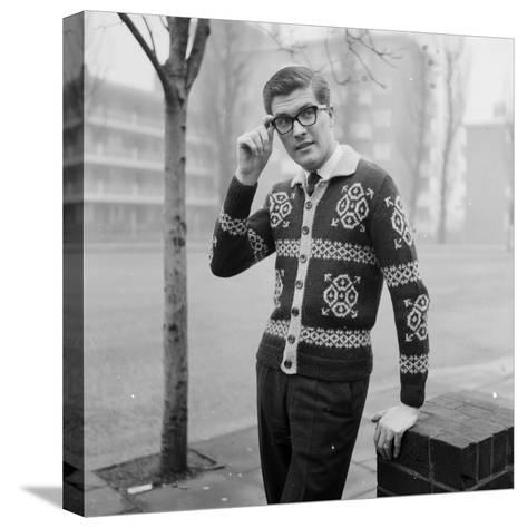 Patterned Jacket-Chaloner Woods-Stretched Canvas Print