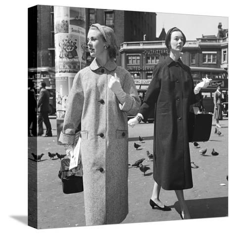 Short and Tall-Chaloner Woods-Stretched Canvas Print