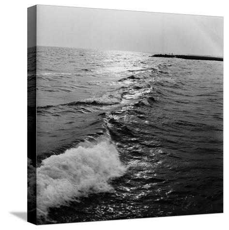 Ocean Waves-George Marks-Stretched Canvas Print