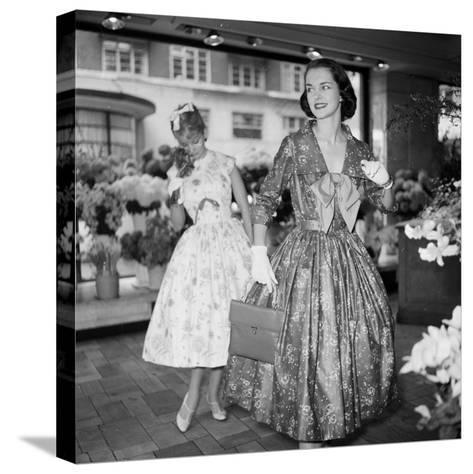 Ball Gown-Chaloner Woods-Stretched Canvas Print