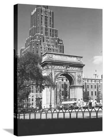 Washington Square Arch, New York City-George Marks-Stretched Canvas Print