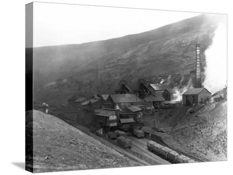 Fernhill Colliery--Stretched Canvas Print