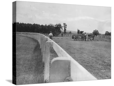Newbury Race Course--Stretched Canvas Print