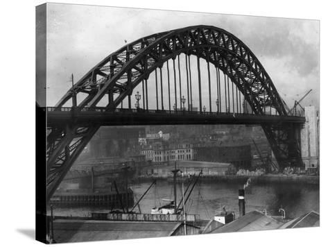 Newcastle Bridge--Stretched Canvas Print
