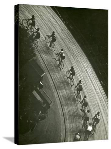 Bike Race-George Marks-Stretched Canvas Print
