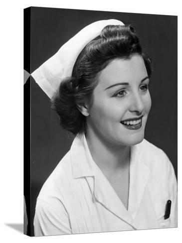 Nurse-George Marks-Stretched Canvas Print