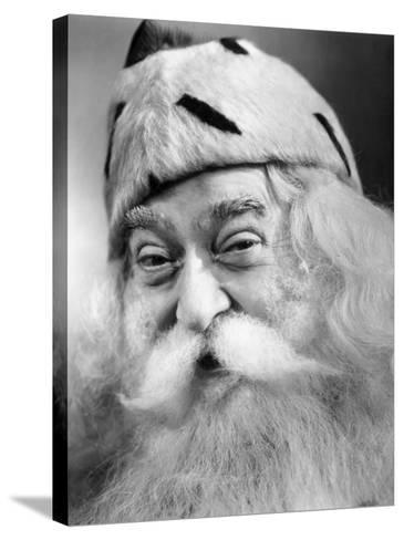 Santa Claus-George Marks-Stretched Canvas Print