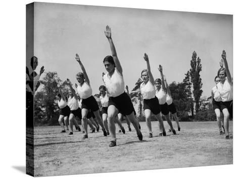 Outdoor Fitness--Stretched Canvas Print