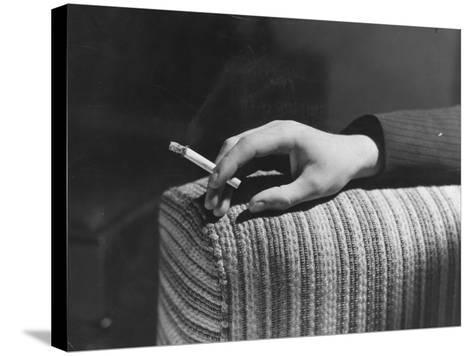 Cigarette Break--Stretched Canvas Print