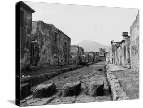 Pompeii Street--Stretched Canvas Print