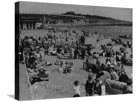Barry Island--Stretched Canvas Print