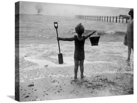 Young Canute--Stretched Canvas Print