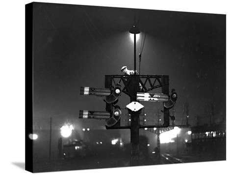 Signal Check--Stretched Canvas Print