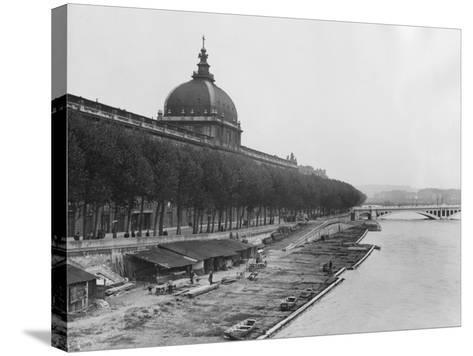 Lyon City--Stretched Canvas Print