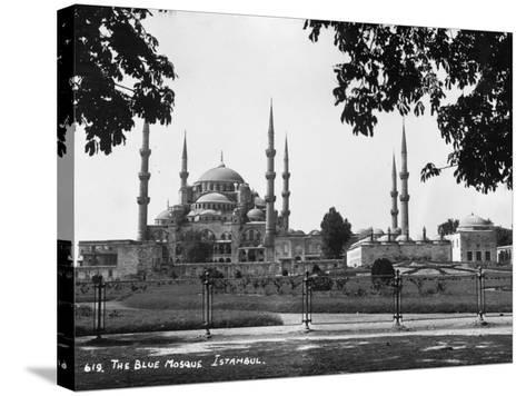 Blue Mosque--Stretched Canvas Print
