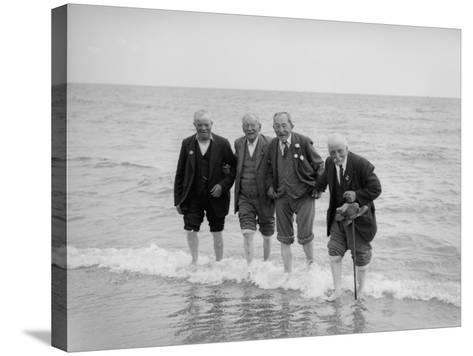 Old Timers--Stretched Canvas Print