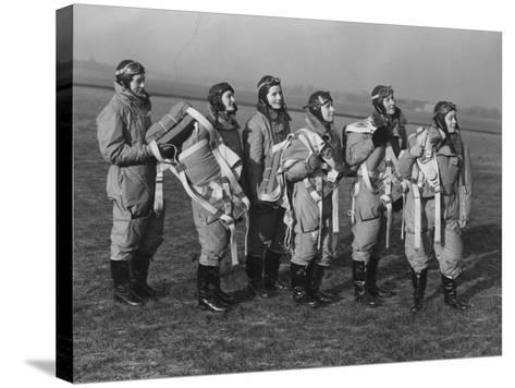 Ata Pilots--Stretched Canvas Print