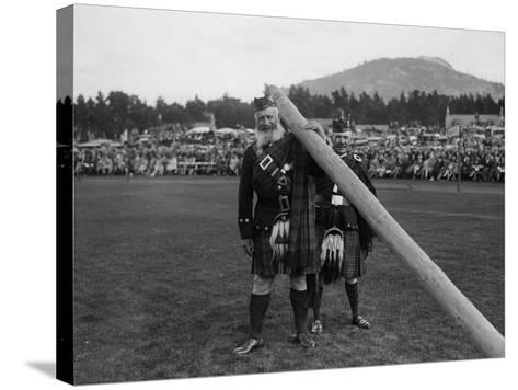 Highlanders--Stretched Canvas Print