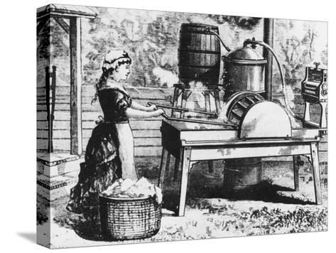 Early Washing Machine-Chaloner Woods-Stretched Canvas Print
