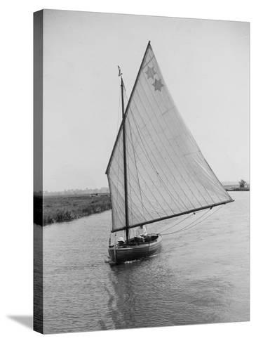 Sailboat--Stretched Canvas Print