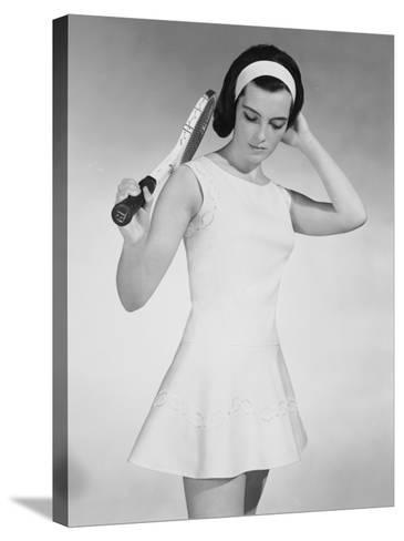 Tennis Dress-Chaloner Woods-Stretched Canvas Print