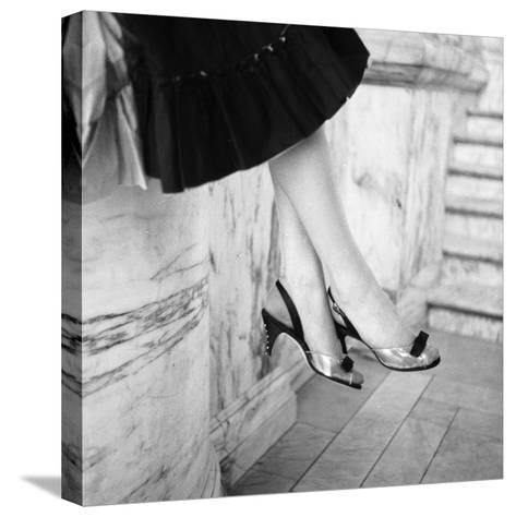 Sling Backs-Chaloner Woods-Stretched Canvas Print