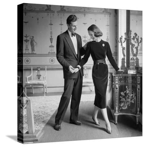 A Perfect Match-Chaloner Woods-Stretched Canvas Print