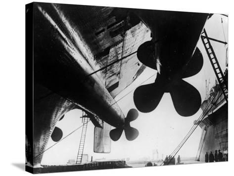 Ships's Propellers--Stretched Canvas Print