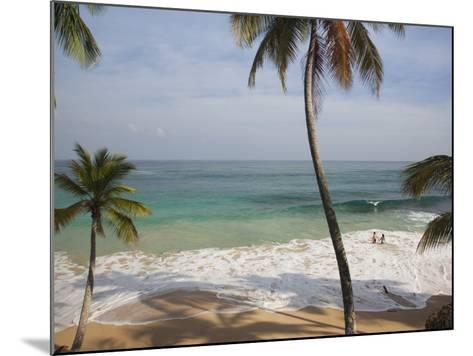 Playa Preciosa Beach, Abreu, North Coast, Dominican Republic-Walter Bibikow-Mounted Photographic Print