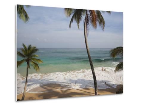Playa Preciosa Beach, Abreu, North Coast, Dominican Republic-Walter Bibikow-Metal Print