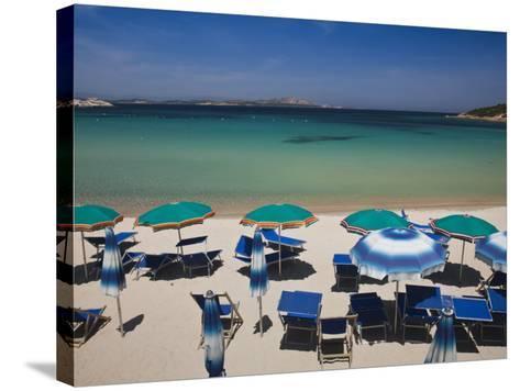 Resort Beach, Baja Sardinia, Sardinia, Italy-Walter Bibikow-Stretched Canvas Print